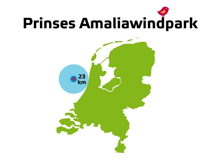Grootste Nederlandse windpark op zee draait opnieuw goed jaar
